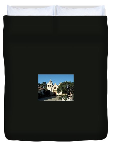 Mission Carmel Duvet Cover