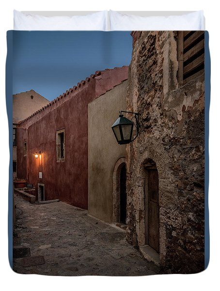 Monemvasia / Greece Duvet Cover