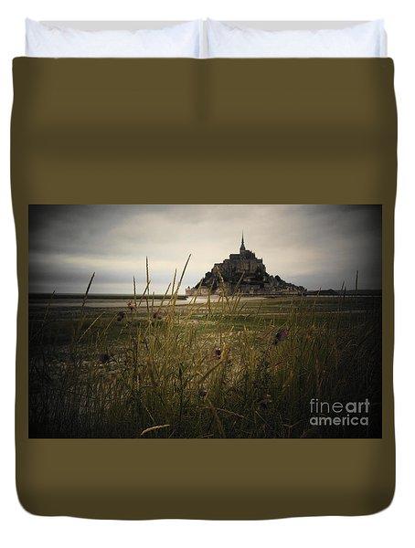Mont St Michel Duvet Cover