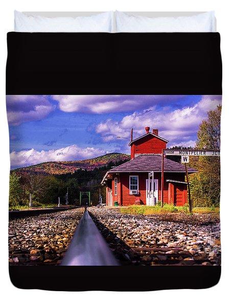 Montpelier Vermont Duvet Cover