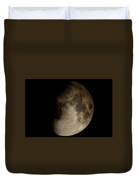 Moon Duvet Cover by George Leask