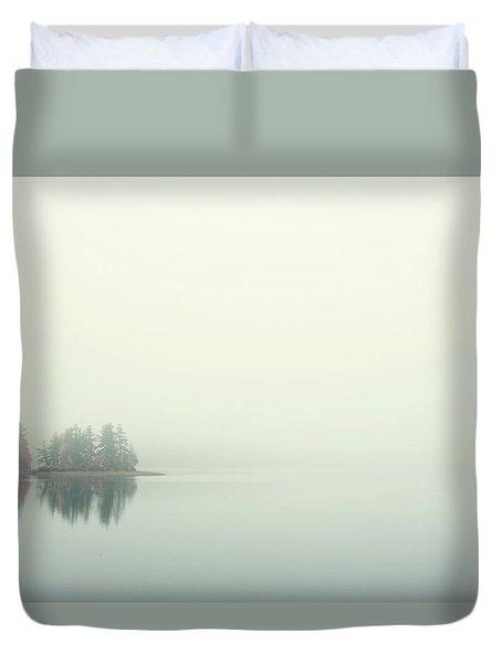 Morning Fog Duvet Cover