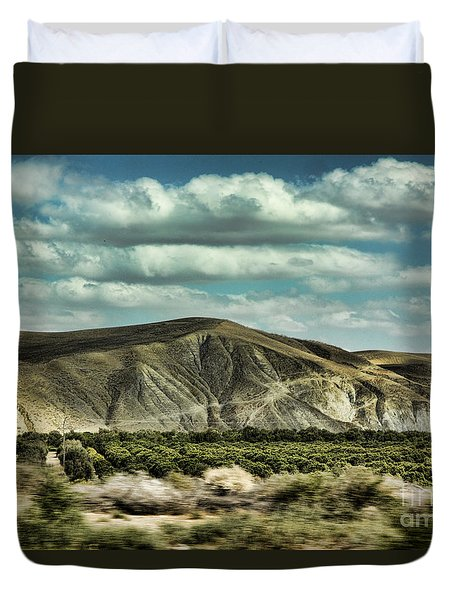 Morocco Landscape I Duvet Cover