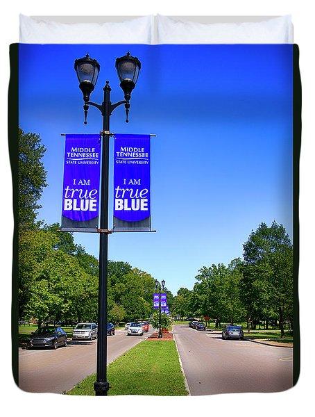 Mtsu Murfreesboro Tn, Usa Duvet Cover