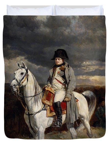 Napoleon Bonaparte On Horseback Duvet Cover