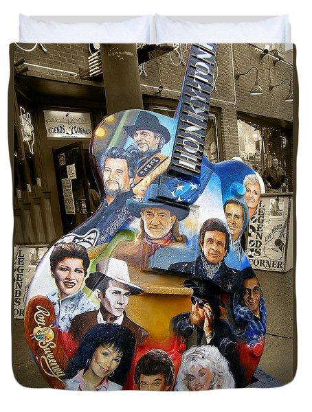 Nashville Honky Tonk Duvet Cover