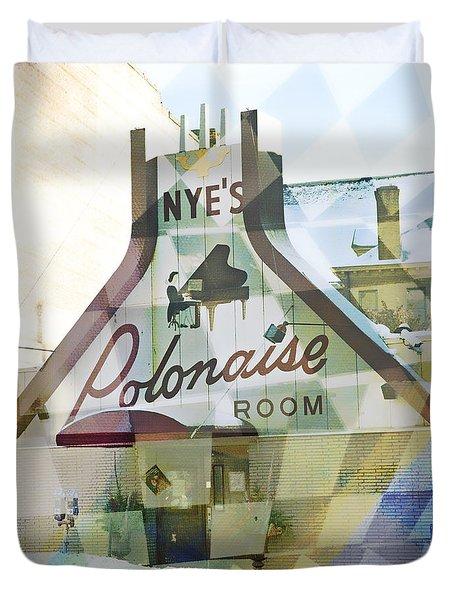 Nye's Polonaise Room Duvet Cover
