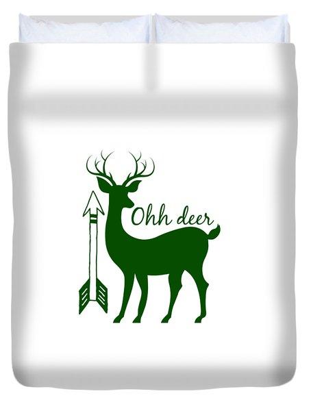 Ohh Deer Duvet Cover