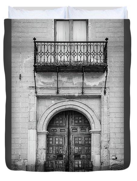 Old Door Duvet Cover