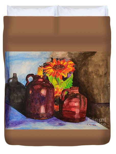 2 Old Jugs 1.. Duvet Cover