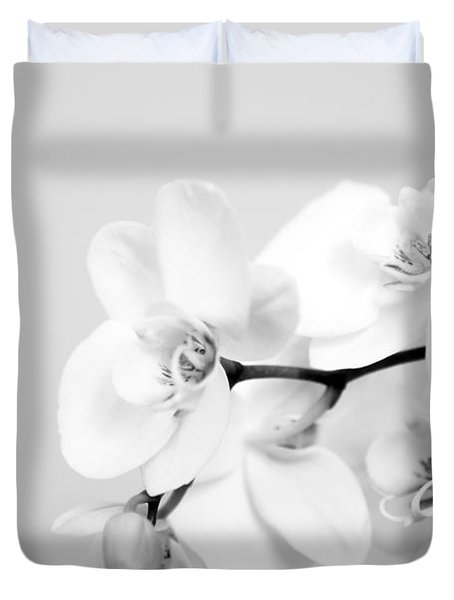 Orchid Duvet Cover by Amanda Barcon
