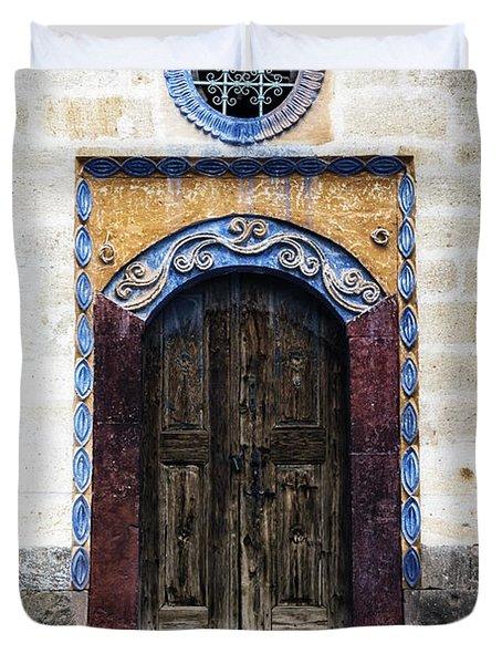 Oriental House Duvet Cover