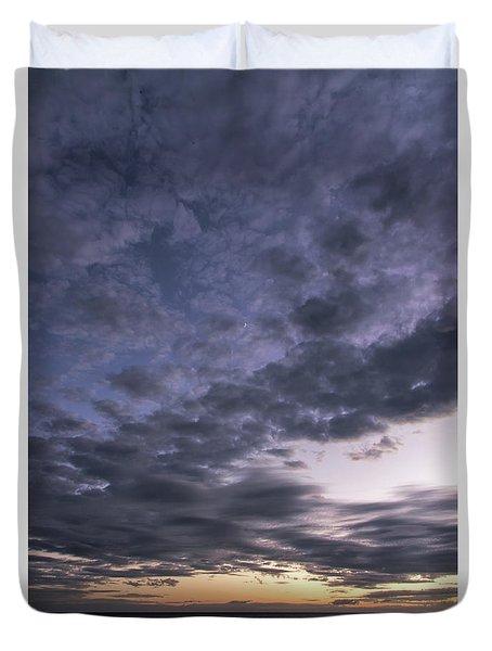 Panama City Beach Florida Sunset  Duvet Cover by Vizual Studio