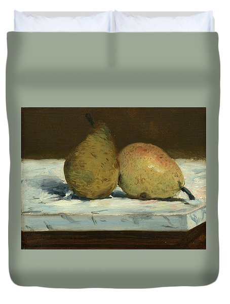 Pears Duvet Cover