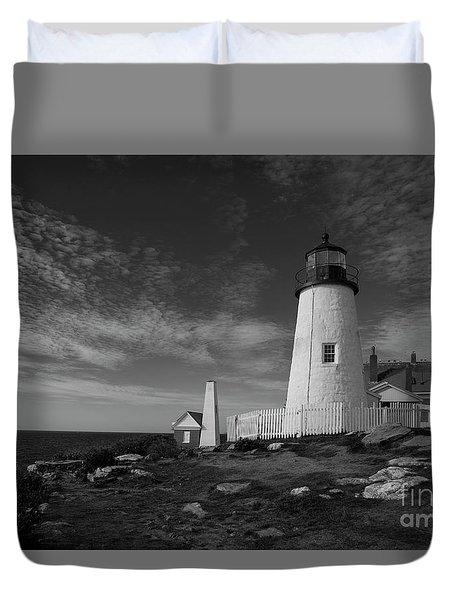 Pemaquid Lighthouse Duvet Cover