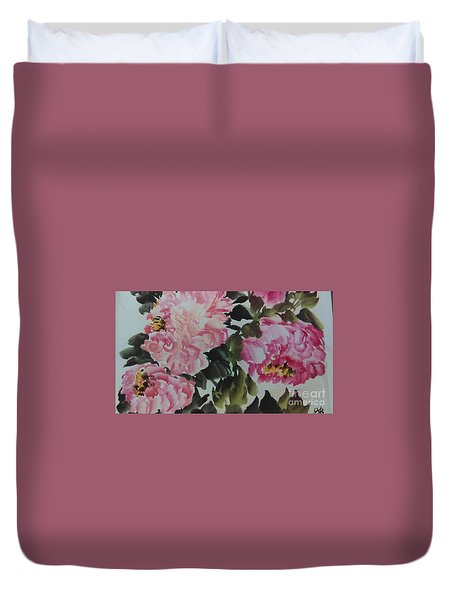 Peoney20161229_6 Duvet Cover