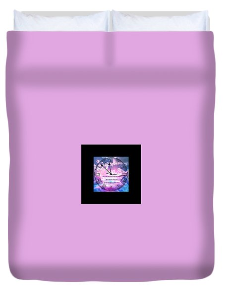 2 Peter 3 9 Duvet Cover