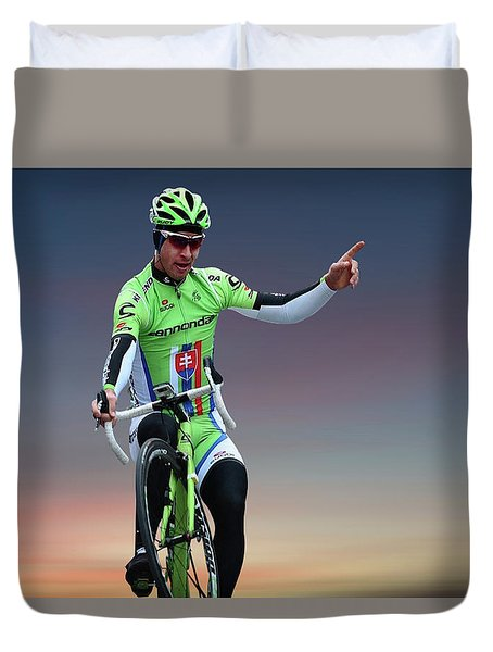 Peter Sagan 10 Duvet Cover