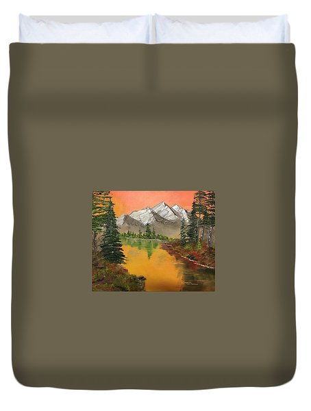 Pine Lake Duvet Cover