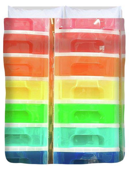 Plastic Drawers Duvet Cover