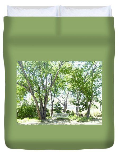 Ponce, Urban Ecological Park Duvet Cover