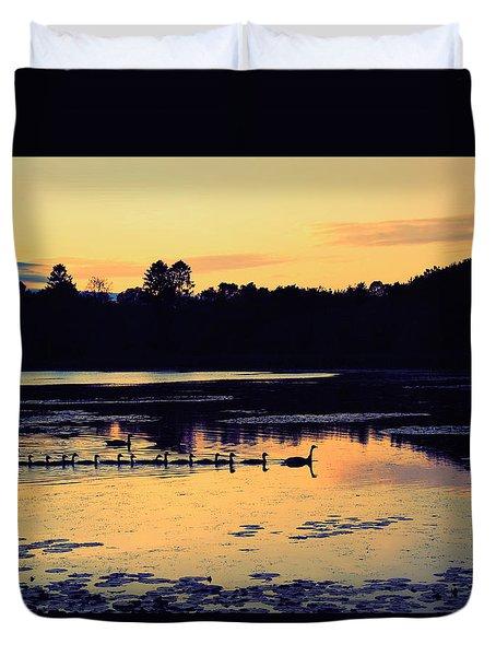 Pond Crossing Duvet Cover