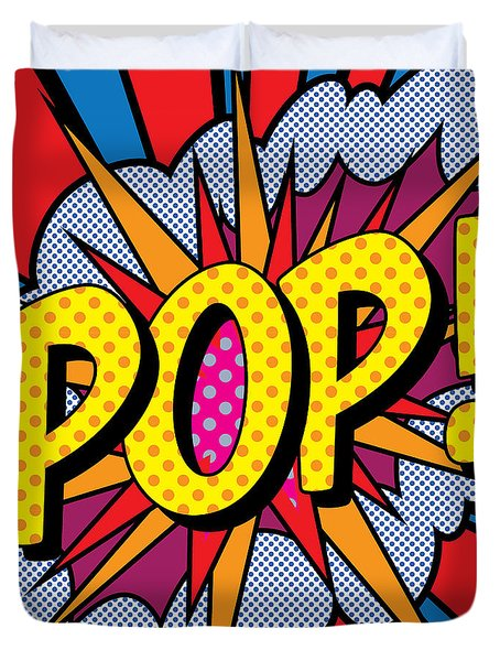 Pop Art - 4 Duvet Cover