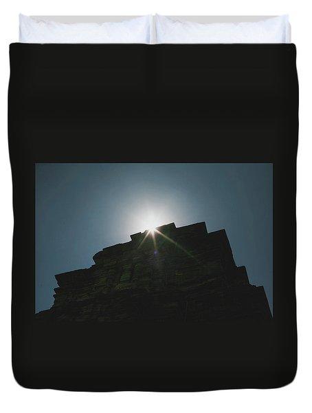 poshanu Tower Duvet Cover