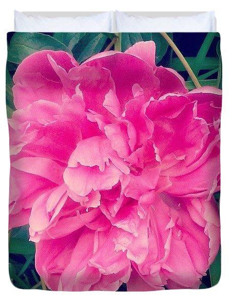 Pretty! ❤ #pink #flower #nature Duvet Cover