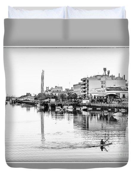Duvet Cover featuring the photograph Puerto De Santa Maria Cadiz Spain by Pablo Avanzini