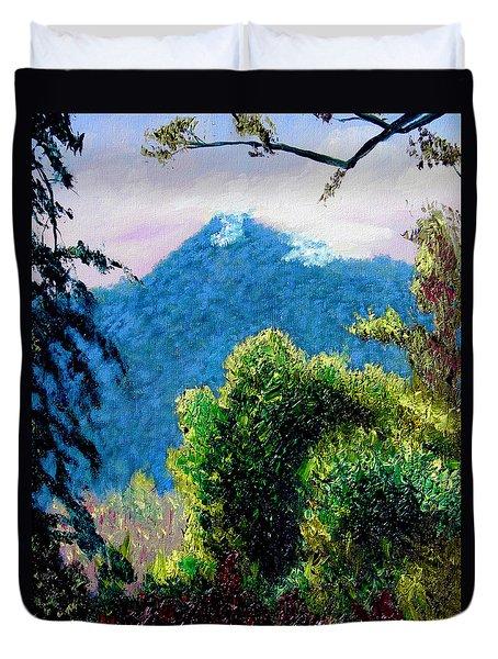 Rain Forrest Duvet Cover