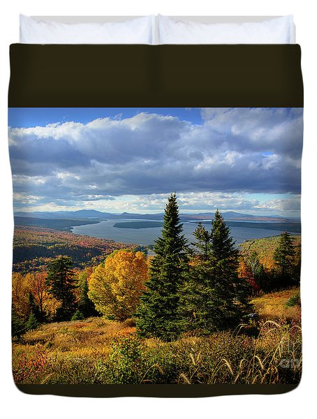 Rangeley Overlook Duvet Cover