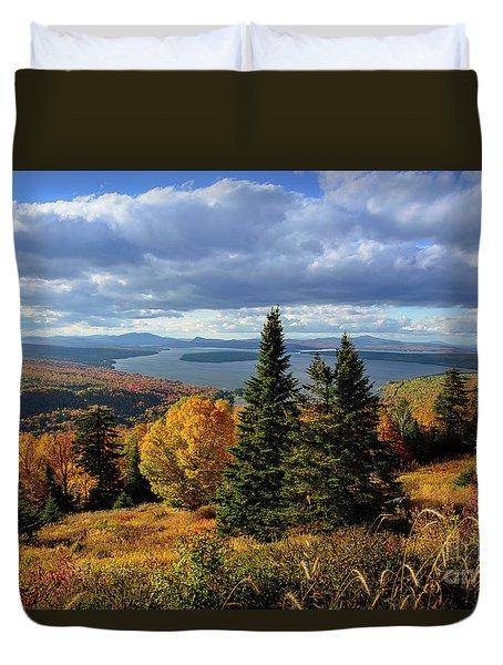 Rangeley Overlook Duvet Cover