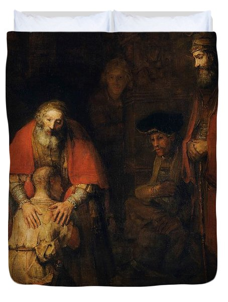 Return Of The Prodigal Son Duvet Cover