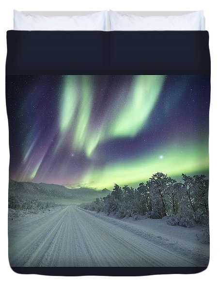 Road View Duvet Cover