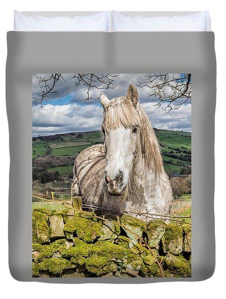 Rustic Horse Duvet Cover