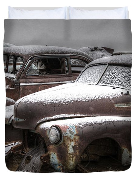 Rusty Duvet Cover