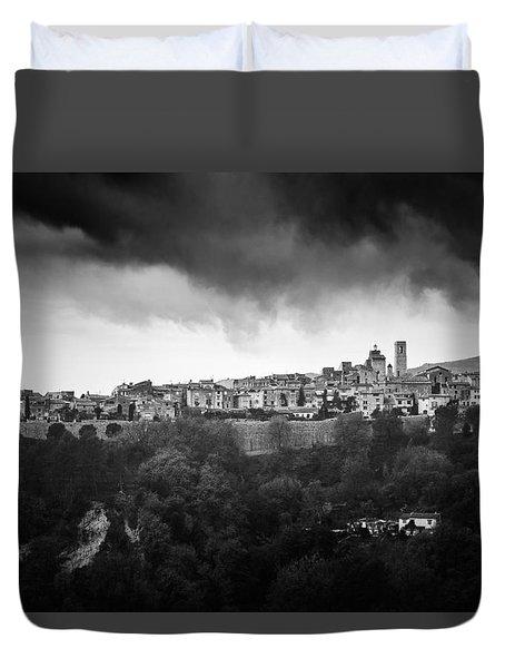 Saint Paul De Vence, Provence, France Duvet Cover by Alfio Finocchiaro