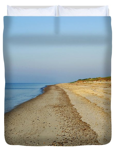 Sandy Neck Beach Duvet Cover