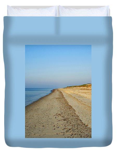 Sandy Neck Beach Duvet Cover
