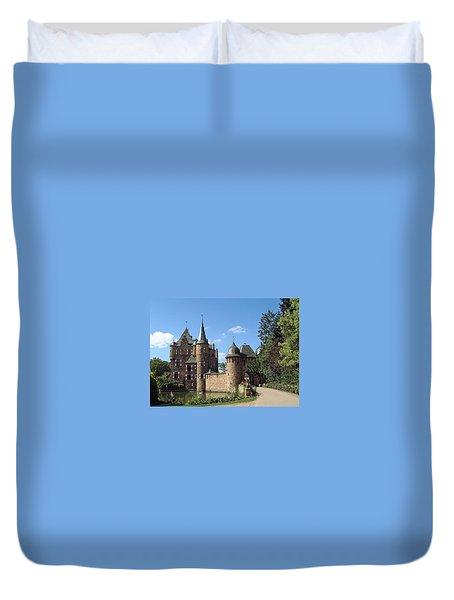 Satzvey Castle Duvet Cover