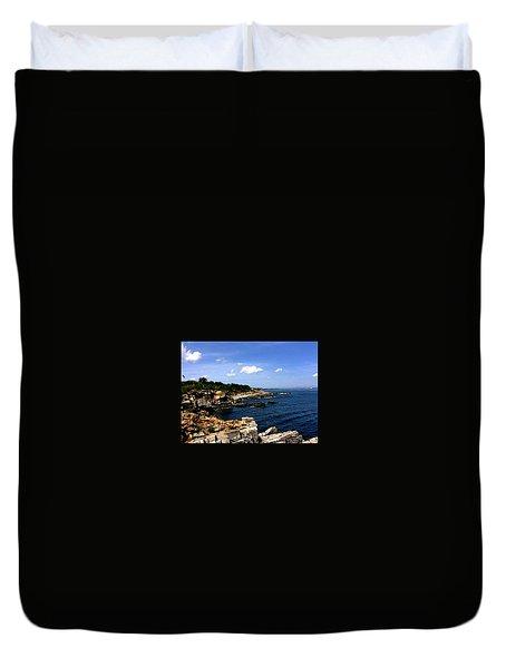 Sea Coast Maine... Duvet Cover