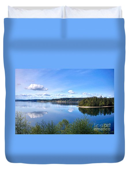 Serenity Duvet Cover by Sean Griffin