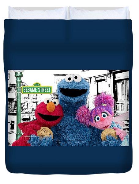 Sesame Street Duvet Cover