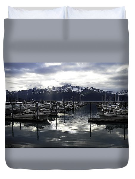 Seward Harbor Duvet Cover