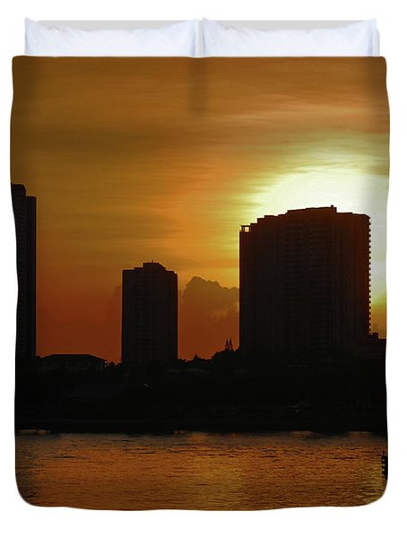 Duvet Cover featuring the photograph 2- Singer Island by Joseph Keane