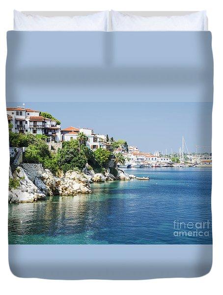 Skiathos Island, Greece Duvet Cover