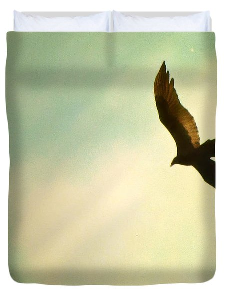 Soaring Duvet Cover by Amy Tyler