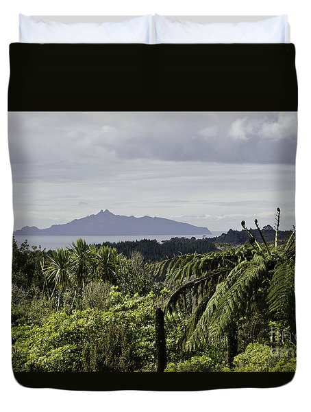 Somewhere Around Whangarei, New Zealand Duvet Cover by Yurix Sardinelly