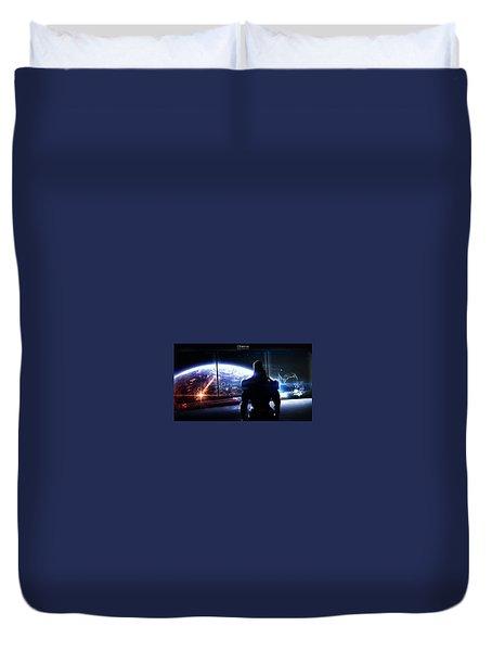 Space Station Duvet Cover